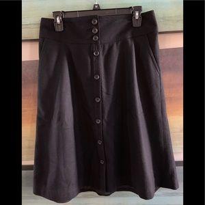 🔥SALE BananaRepublic | 80% Wool A-Line Skirt